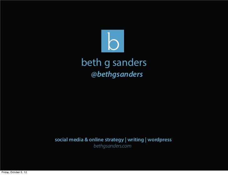 Building Your Brand With Social Media