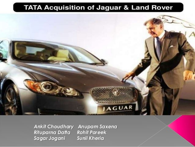 TATA's Acquisition of Jaguar and Land Rover