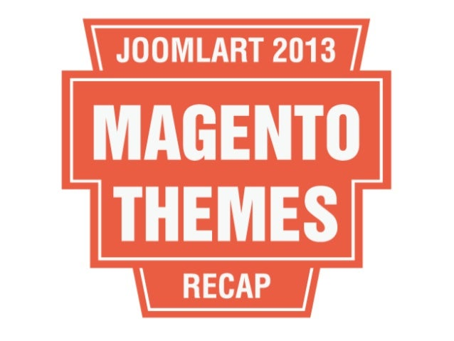 2013 Recap: Top JoomlArt Magento Templates