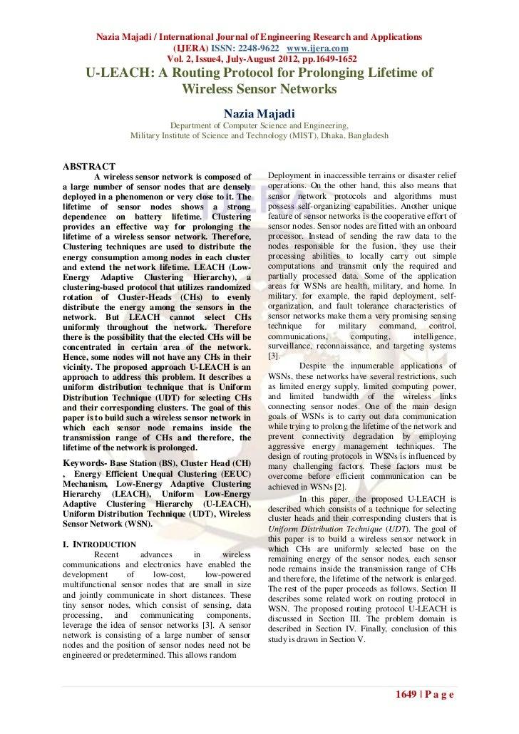 Nazia Majadi / International Journal of Engineering Research and Applications                            (IJERA) ISSN: 224...