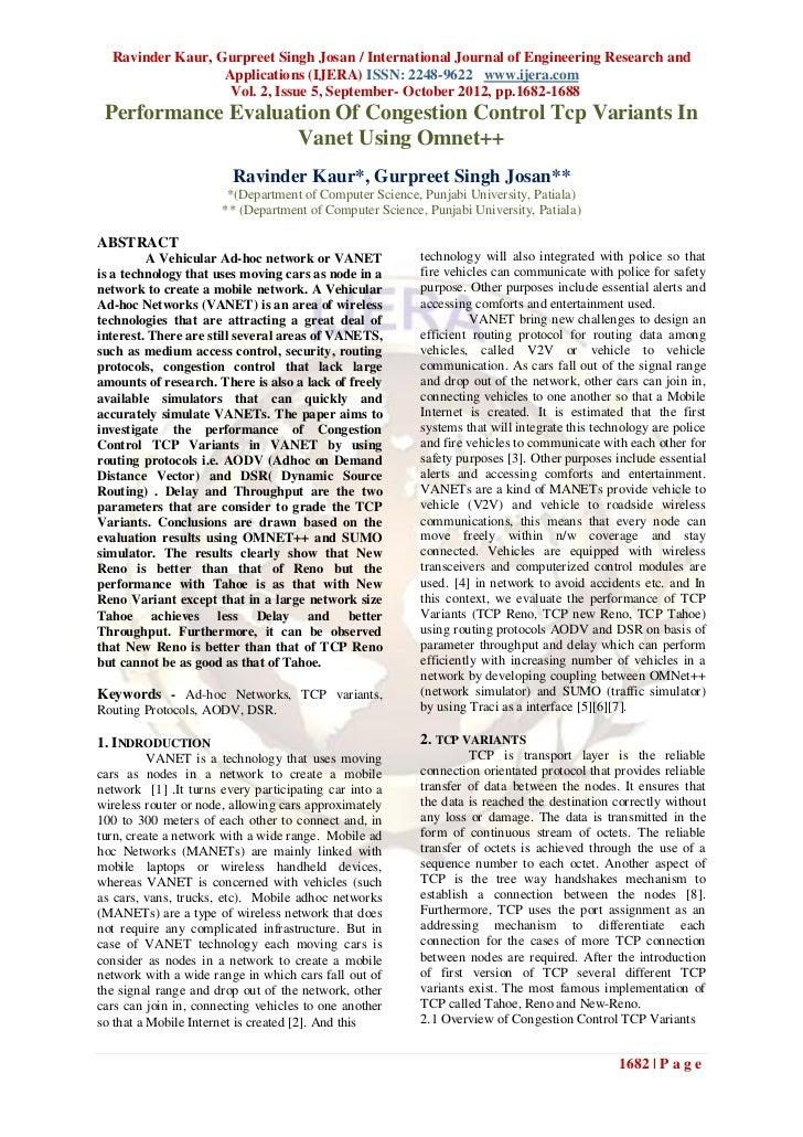 Ravinder Kaur, Gurpreet Singh Josan / International Journal of Engineering Research and                  Applications (IJE...