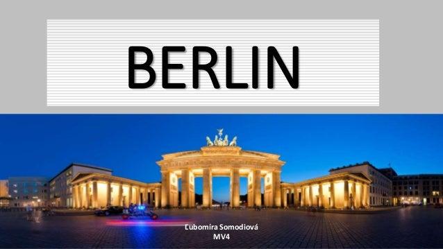 BERLIN Ľubomíra Somodiová MV4