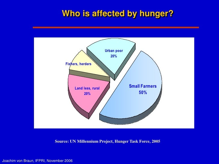 The Impact of Globalization on Hunger in the Developing World?