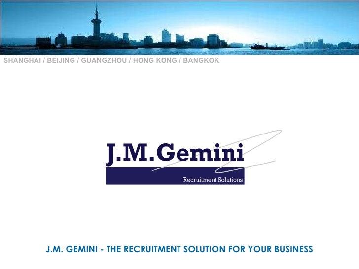 JM Gemini Retail presentation