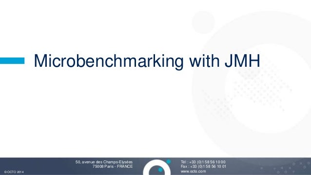 Microbenchmarking with JMH