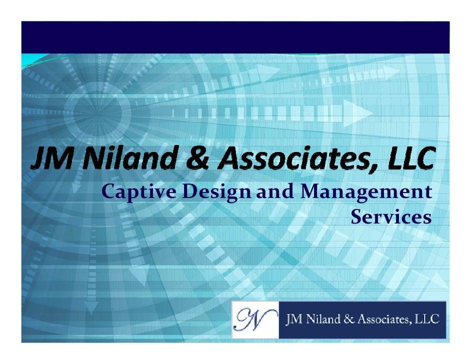 Captive Design and Management                       Services