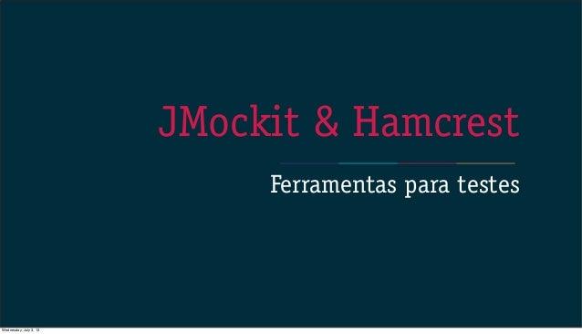 JMockit & Hamcrest