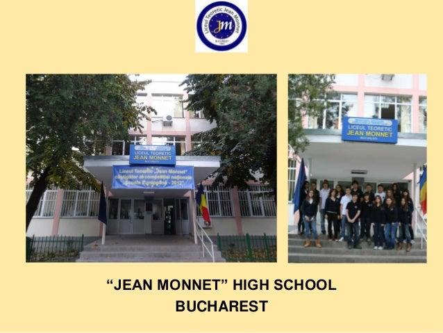 Jean Monnet High School -FAIR play
