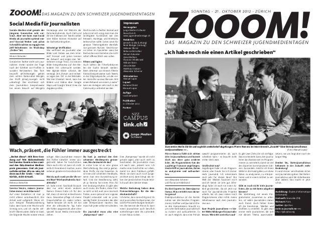 Zoom! #2 – Das Magazin zu den ersten Schweizer Jugendmedientagen