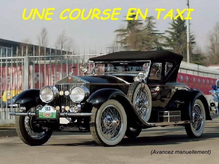 un chauffeur de taxi
