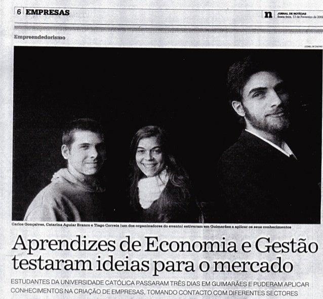 Article JN: 2º Fim-de-Semana Professor Dr. Carvalho Guerra [PT]