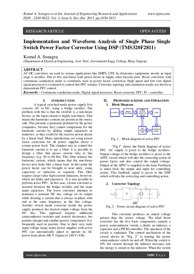 Komal A. Sonagra et al Int. Journal of Engineering Research and Applications ISSN : 2248-9622, Vol. 3, Issue 6, Nov-Dec 20...