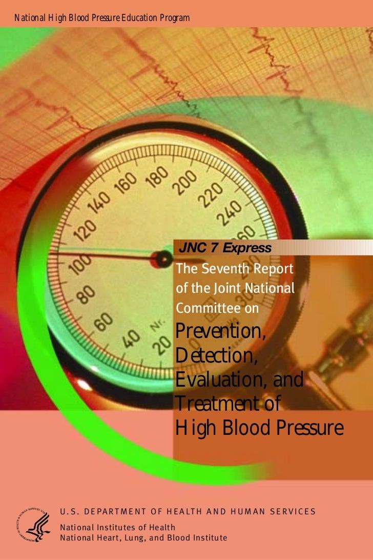 National High Blood Pressure Education Program                                             JNC 7 Express                  ...