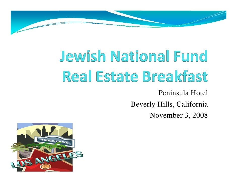 Jnf Commercial Real Estate And Capital Group Economy 2008 Lecture