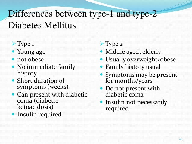 The Differences & Similarities Between Type 1 and Type 2 Diabetes