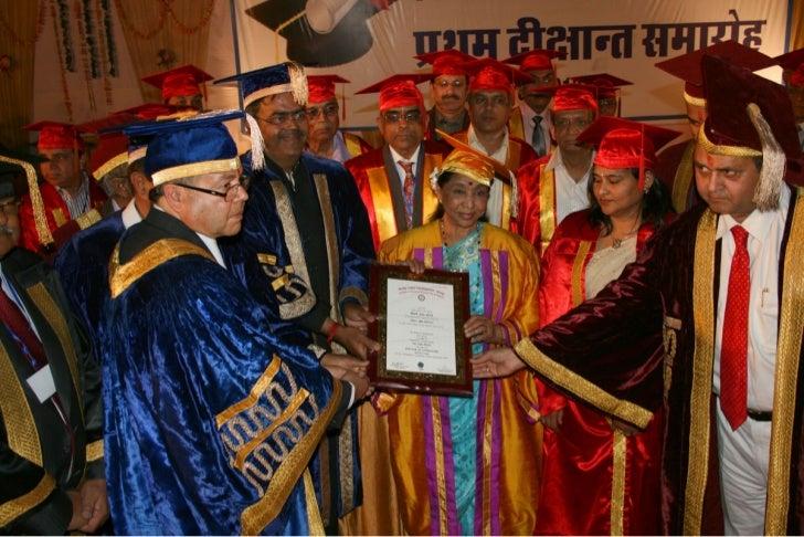 Jodhpur National University : Convocation 12