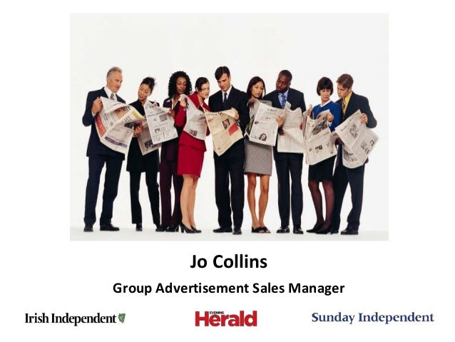 Jo CollinsGroup Advertisement Sales Manager