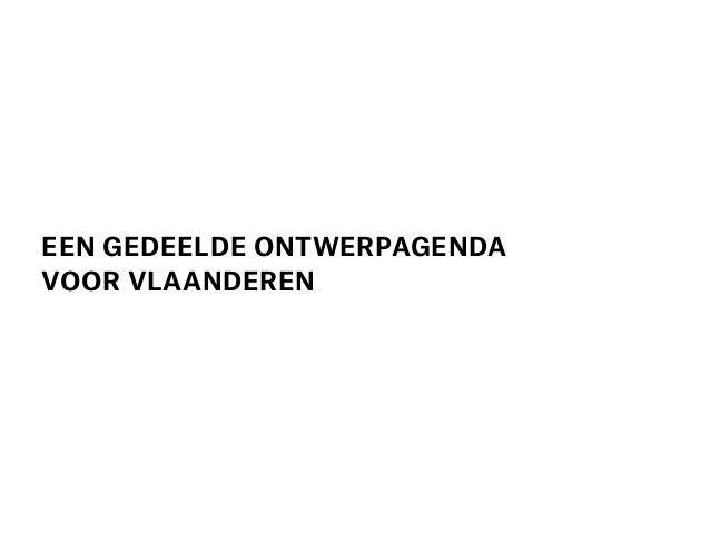 Naar een gedeelde ontwerpagenda voor Vlaanderen_ Joachim Declerck_deel 2