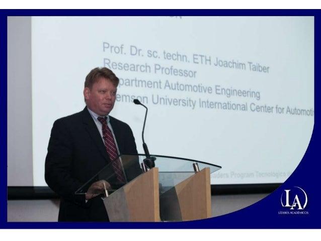 Conferencia Joachim Taiber