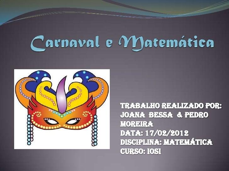 Geometria de carnaval