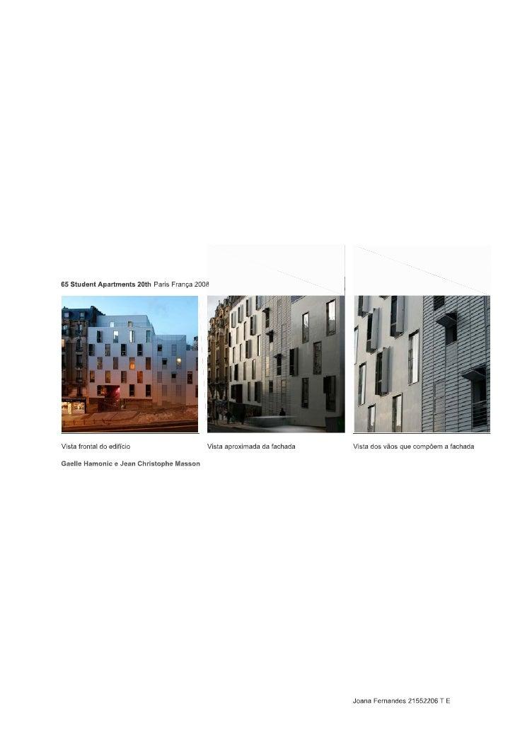 2     O edifício em estudo usa como solução              -duzem    um   efeito   quase   de   espelho  construtiva o isola...