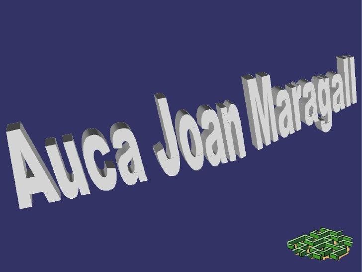 Auca Joan Maragall