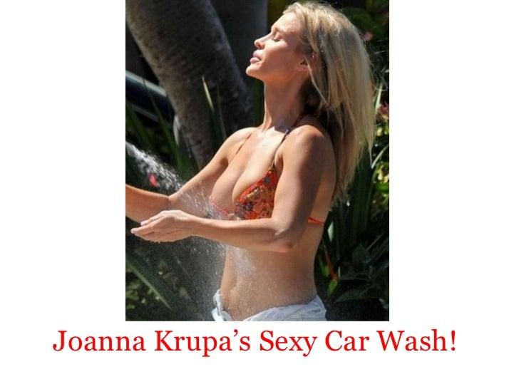 Joanna krupa's Sexy Car Wash