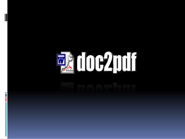 How to use Doc2Pdf.net