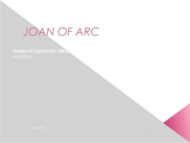 Haga clic para modificar el estilo de subtítulo del patrón2013/06/14JOAN OF ARCMaitane Gantxegi, Miriam Toril, Sara Merino...