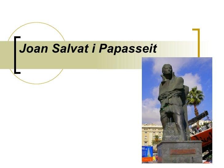 Joan Salvat i Papasseit