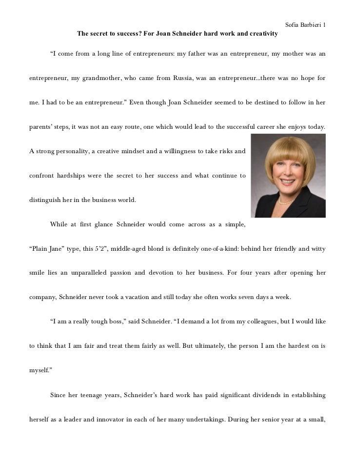 Joan Schneider profile