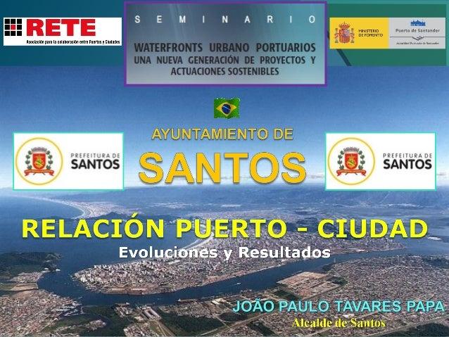 Brasil  Província de São Paulo  Ayuntamiento de Santos