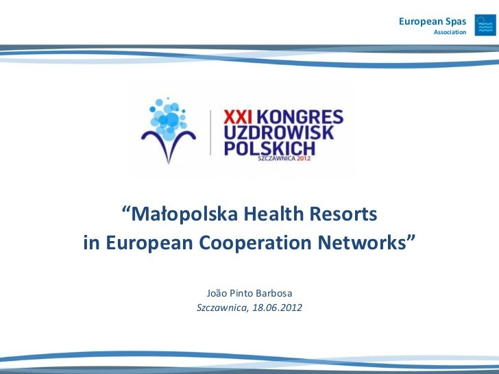 Poland Health Resorts in European Cooperation Networks