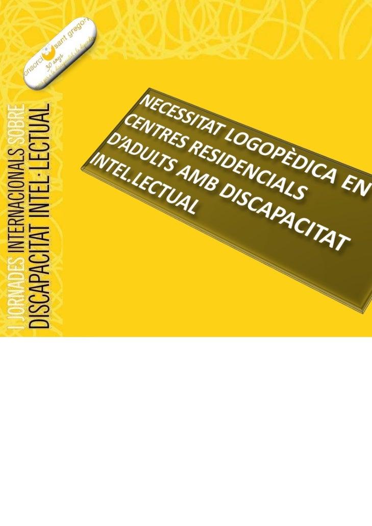 1. INTRODUCCIÓ     1.   CENTRERESIDENCIALICAEELSROURES     2.   PERFILDELSUSUARISQUEATENEM     3.   CARACTÉRISTIC...
