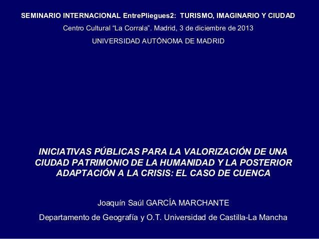 Joaquin Saul Garcia Marchante - EntrePliegues2