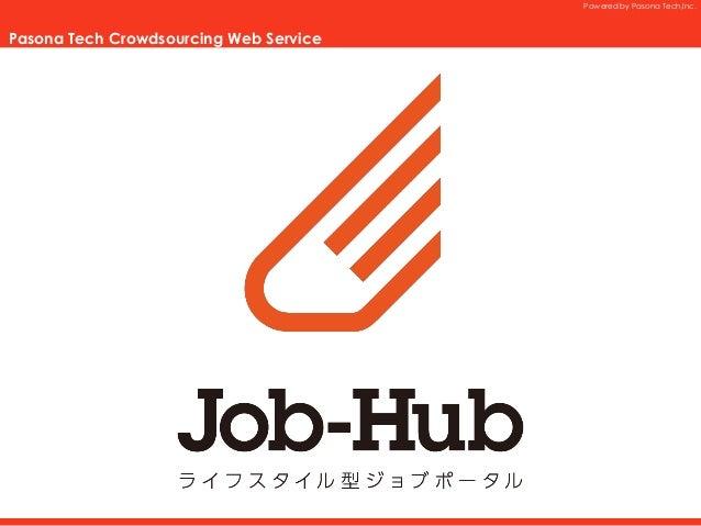 Job-Hub利用画面イメージ