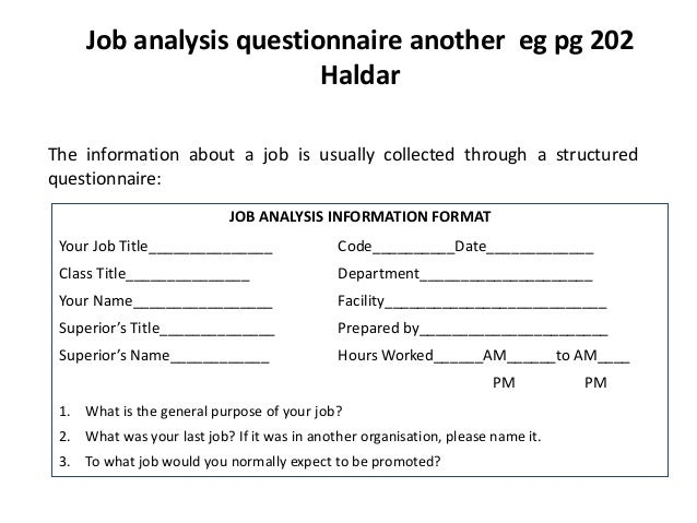 Example Of Job Analysis – Printable Editable Blank Calendar 2017