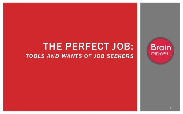 Millenial and GenY Attitudes: The Perfect Job and Tool/Social Survey