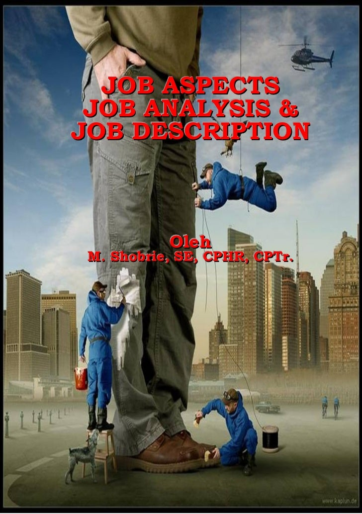Pelatihan Job Aspects, Job Analysis & Job Description