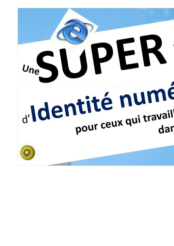 Job dans le social & identité numérique