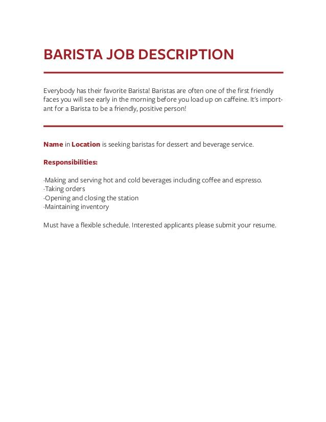 Free Resume Templates Expert Preferred Genius Cvfolio Best Brefash View  Sample Physician Job Description Resume Examples  Barista Job Description Resume