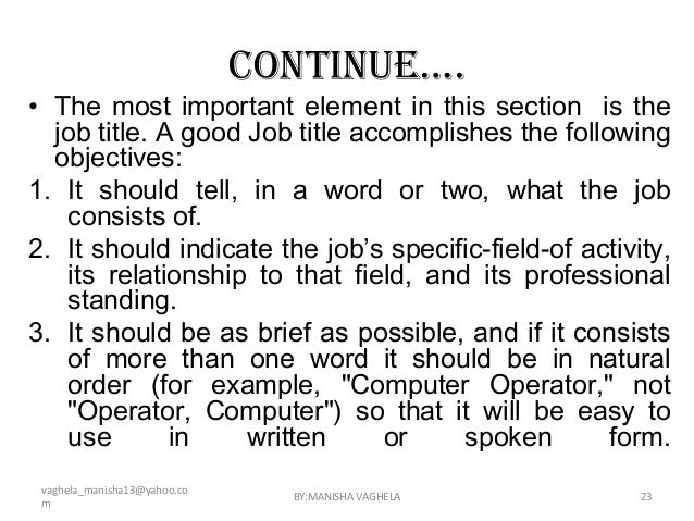 an examination of the different duties and responsibilities of a computer operator Computer operator examination 2011 visit for computer operator exam preparation question paper public service commission non-gazated first class, miscellaneous service, competitive written examination of computer operator/data entry supervisor.
