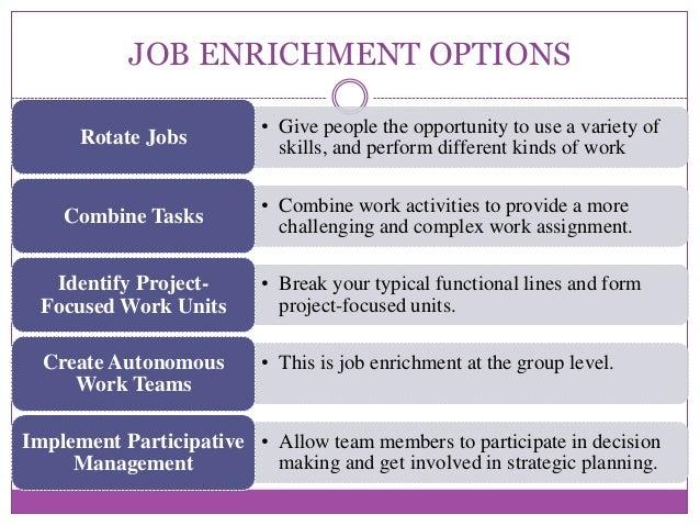 decision making and e job rotation