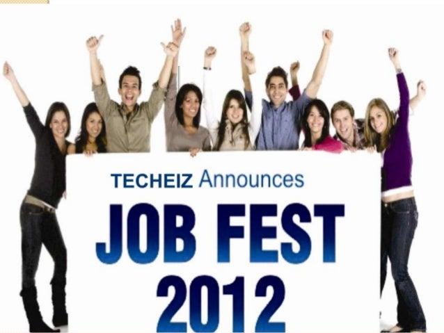 TECHEIZ ANNOUNCES        JOB FAIR 2012    IN ASSSOCIATION WITH        IEC GROUP OF        INSTITUTIONSON 5TH/6TH/7TH NOVEM...