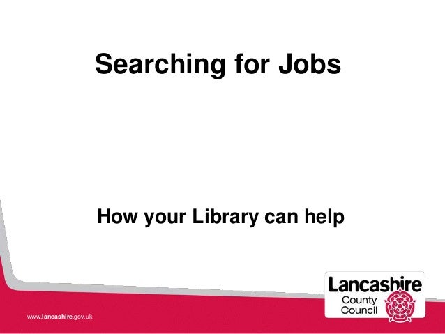 Job help from your Library