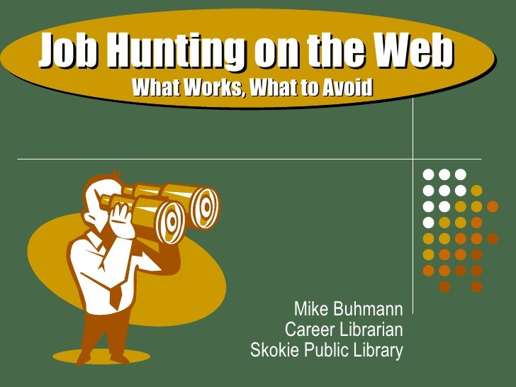 Job Hunting on the Web (Sep 09)