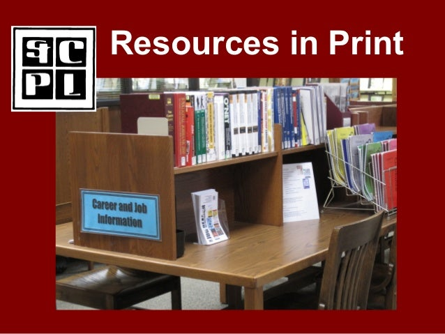 Resources in Print