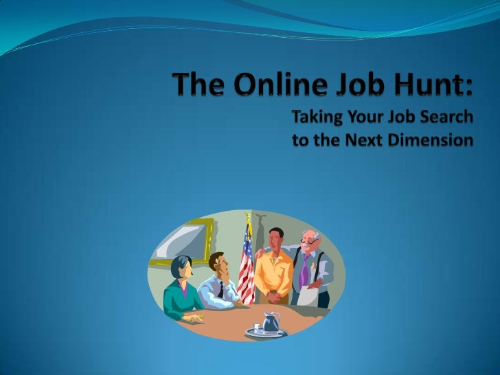 Job hunt sample presentation