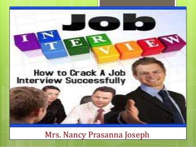 Mrs. Nancy Prasanna Joseph