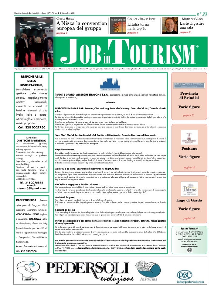 ANDlogico su Job in Tourism